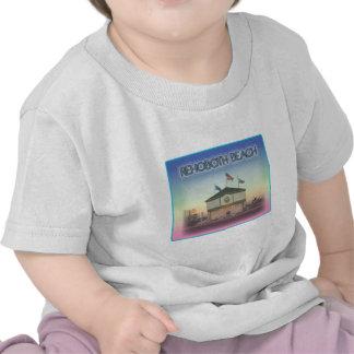Rehoboth Beach Delaware - Rehoboth Ave Scene T Shirt