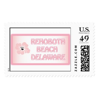Rehoboth Beach Hobo Pink Stamps