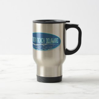 Rehoboth Beach In The Waves Mug