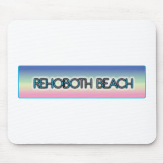 Rehoboth Beach Pastel Rainbow Style 1 Mouse Pads