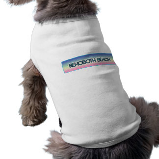 Rehoboth Beach Pastel Rainbow Style 1 Pet Clothes