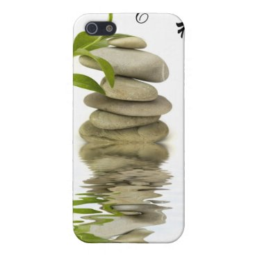 Relax Zen Stones with Bamboo iPhone Case