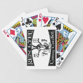 Ren Lyfe: Distressed Robert Greene Conny-Catcher Bicycle Playing Cards