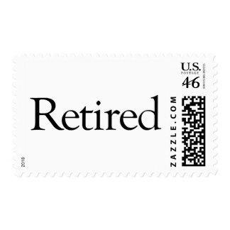 Retired Stamp