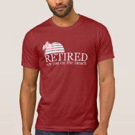 retired see you on the beach tshirts