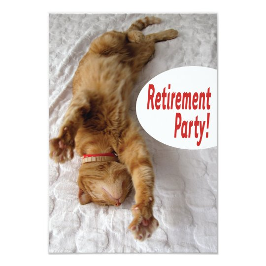 retirement party invitation with