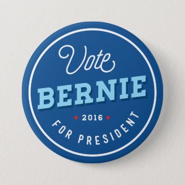 Retro Bernie Pinback Button