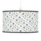 Atomic Starburst Retro Multicolored Pattern Ceiling Lamp ...