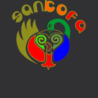 celebrate Black history month - Sankofa