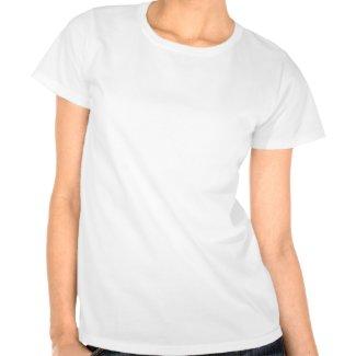 Retro St. Patrick's Day Shamrock Womens Shirt