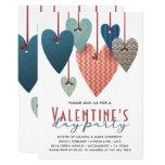 Retro Valentine's Day Party Invitation