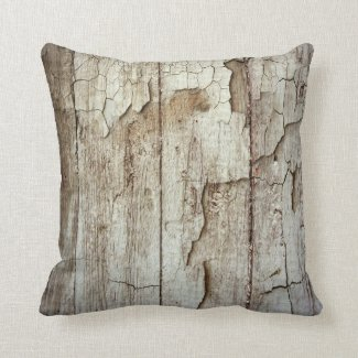 Retro Wood Wooden Texture Pattern Throw Pillows