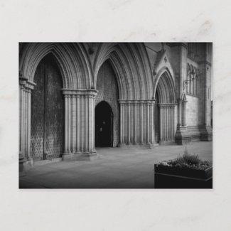 Ripon Cathedral Holga-ish postcard