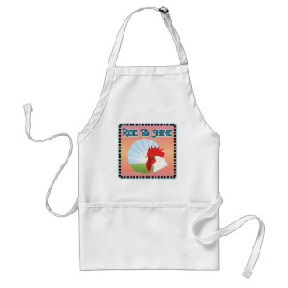 Rise and Shine Rooster Apron