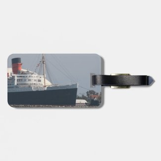 RMS Queen Mary Hotel and Museum in Long Beach Luggage Tag