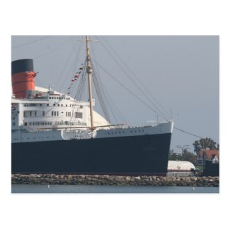 RMS Queen Mary Hotel and Museum in Long Beach Post Cards