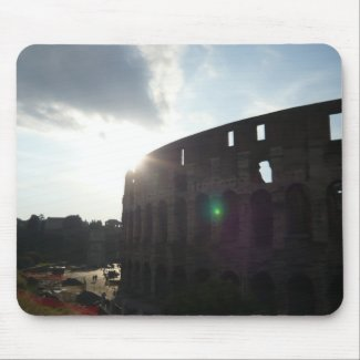 Rome Colosseum zazzle_mousepad