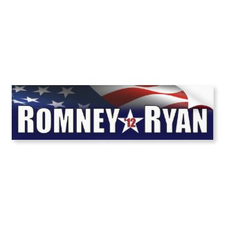 Romney - Ryan - 2012 Bumper Stickers