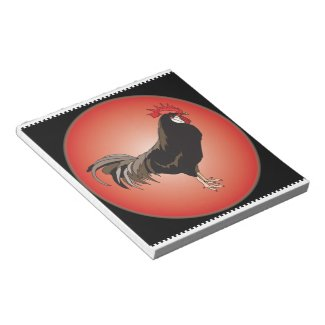Rooster Showcase Memo Pad