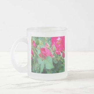 Rose Bud with Water Droplet Mug