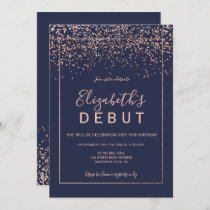rose gold typography debut purple 18th