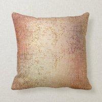 Rose Gold Pillows - Decorative & Throw Pillows | Zazzle