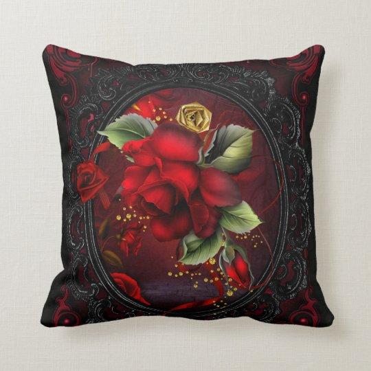 Rose Red Throw Pillow  Zazzlecom