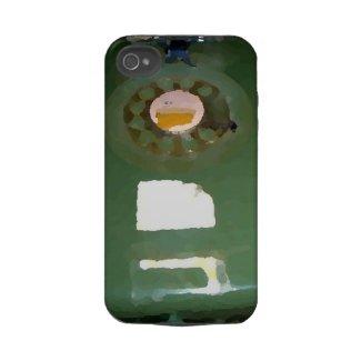 Rotary Phone iPhone design Tough Iphone 4 Case