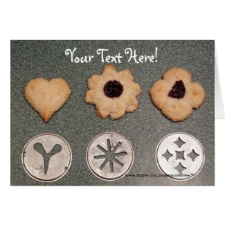 Rout Biscuits Cookie Recipe Card