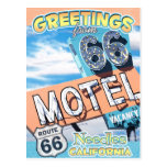 Route 66 Greetings Needles California Postcard
