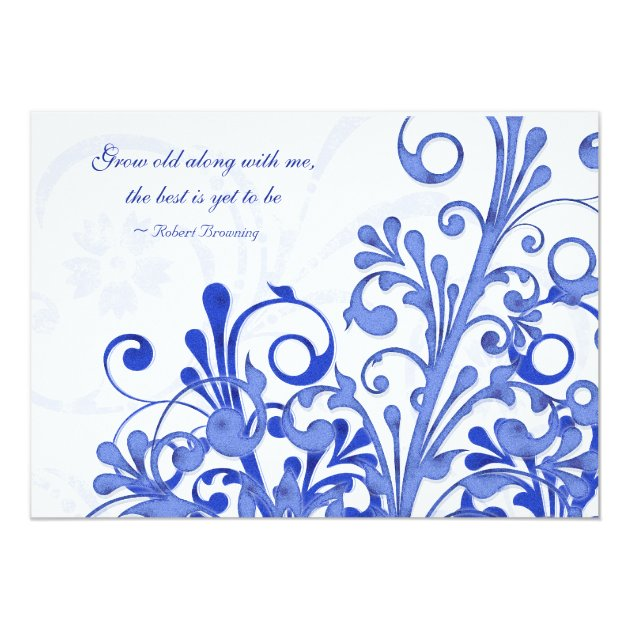 Save Date Cards Royal Blue