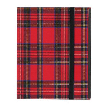 Royal Stewart tartan red black plaid iPad Cover