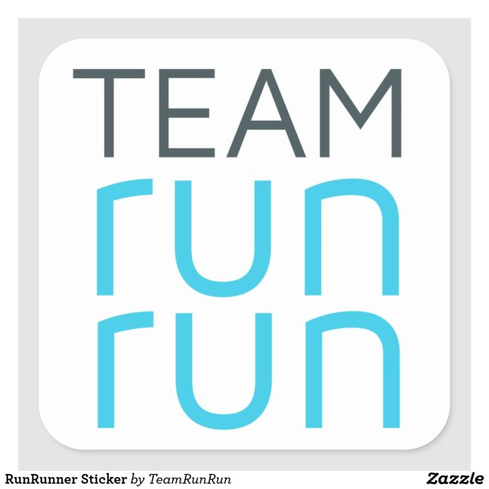 RunRunner Sticker