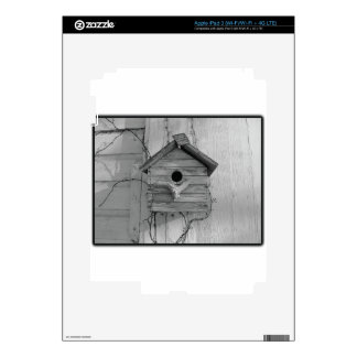 Rustic Birdhouse Skins For iPad 3