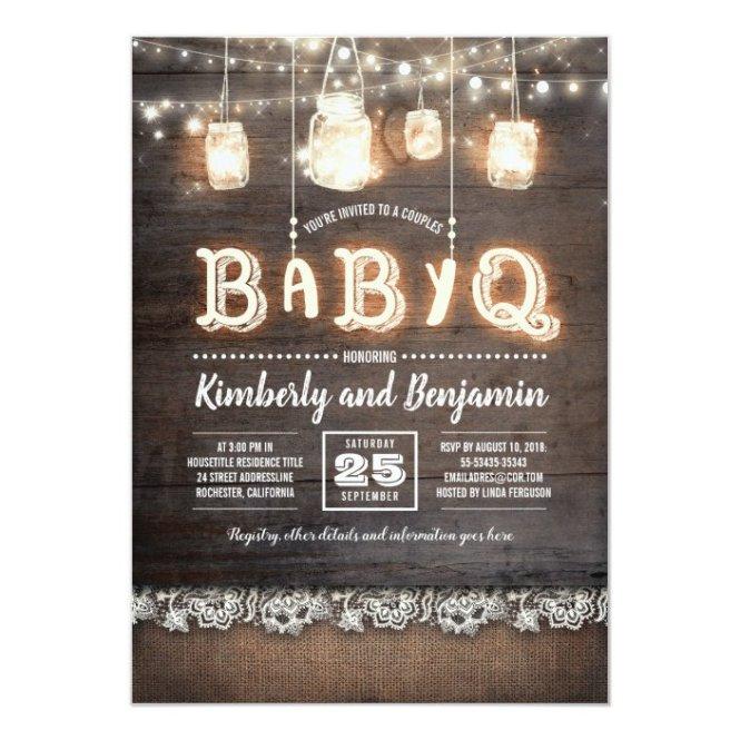 Babyq S Baby Shower Invitation