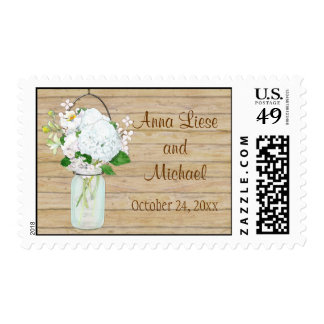 Rustic Wedding Custom Postage and Rustic WeddingCustom Stamps | Zazzle