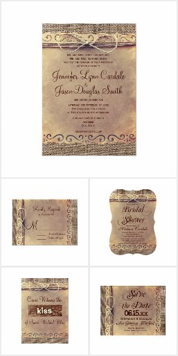 Unique Rustic Wedding Invitations For Your Inspiration To Create Design Look More Captivating 13