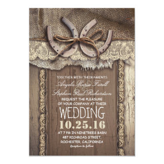 5 Country Inspired Wedding Invitation With Cowboy Boots