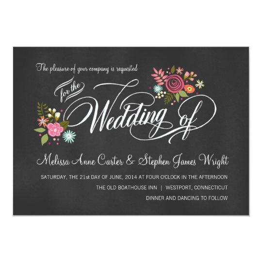 Make Your Own Country Wedding Invitations