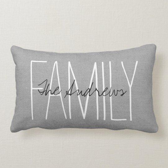 rustic gray family monogram