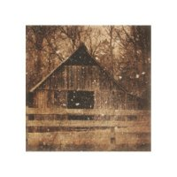 Rustic Old Barn Wood Wall Art | Zazzle