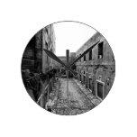 Rustic Rome Round Wallclock