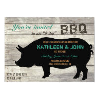 Pig I Do Bbq Wedding Invitations Cat Pet Other Gifts