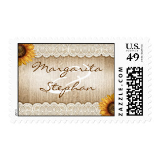 Rustic Wedding Custom Postage and Rustic WeddingCustom Stamps | Zazzle