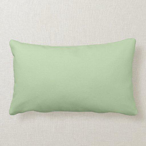 Sage Green Throw Pillow  Zazzle
