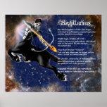 Sagittarius Characteristics Poster