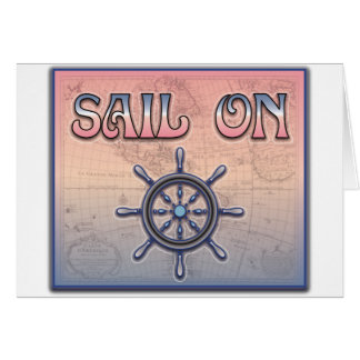 Sail On Greeting Cards