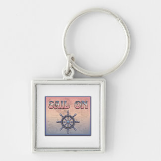 Sail On Key Chain