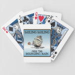 Sailing, Sailing - Over The Bounding Main playing cards