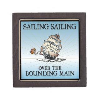 Sailing, Sailing - Over The Bounding Main Premium Keepsake Box
